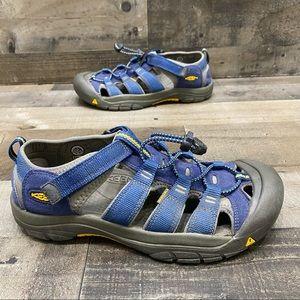 Keen men's blue water hiking sandals size 7